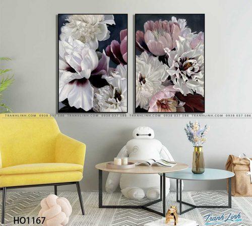 tranh canvas hoa 1167