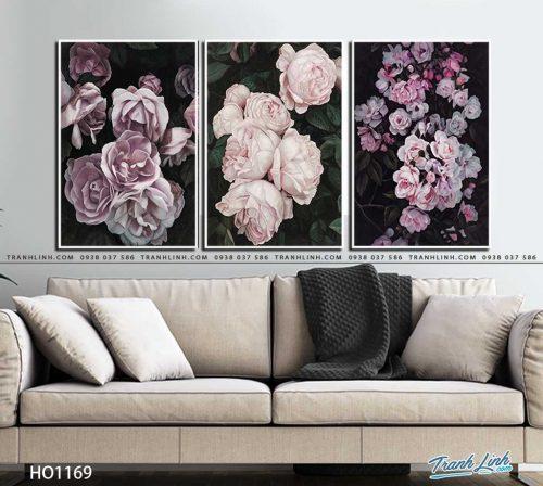 tranh canvas hoa 1169