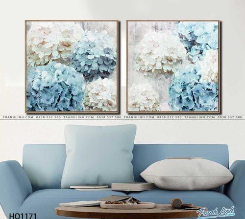 tranh canvas hoa 1171