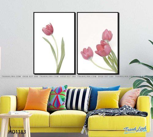 tranh canvas hoa 1183