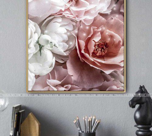 tranh canvas hoa 1190