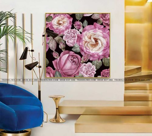 tranh canvas hoa 1191