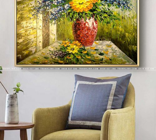 tranh canvas hoa 1204
