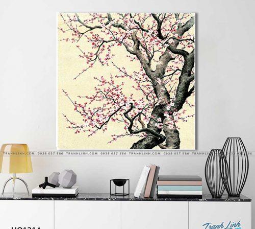 tranh canvas hoa 1214