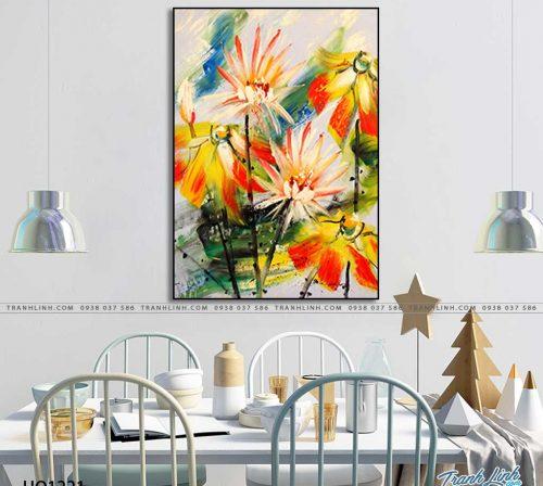 tranh canvas hoa 1221