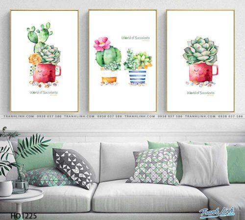 tranh canvas hoa 1225