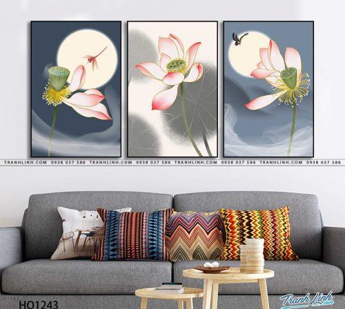 tranh canvas hoa 1243