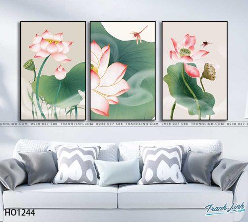 tranh canvas hoa 1244