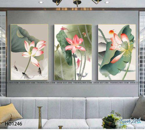 tranh canvas hoa 1246