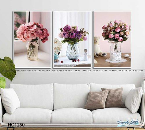 tranh canvas hoa 1250