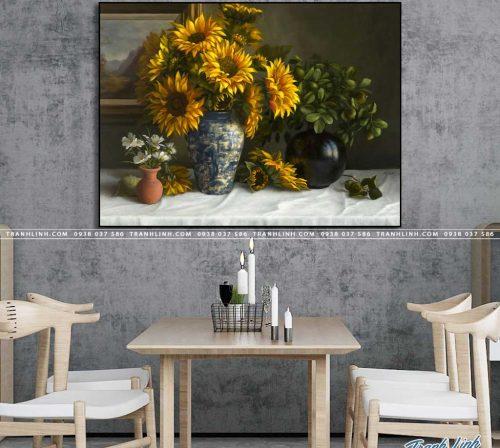 tranh canvas hoa 1252