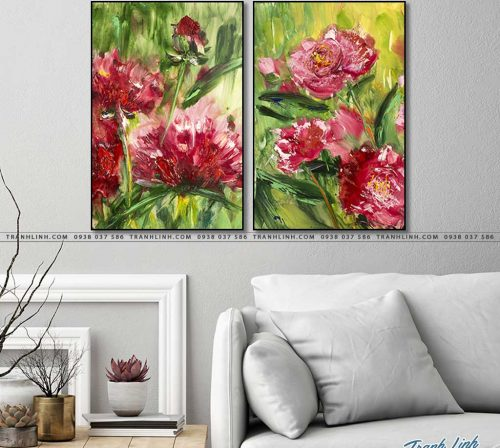 tranh canvas hoa 1256