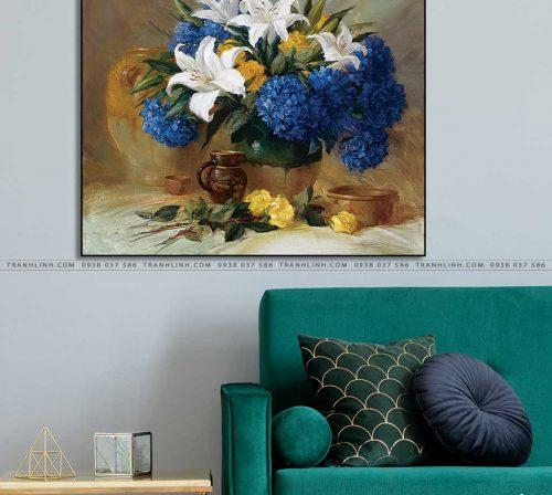 tranh canvas hoa 1273