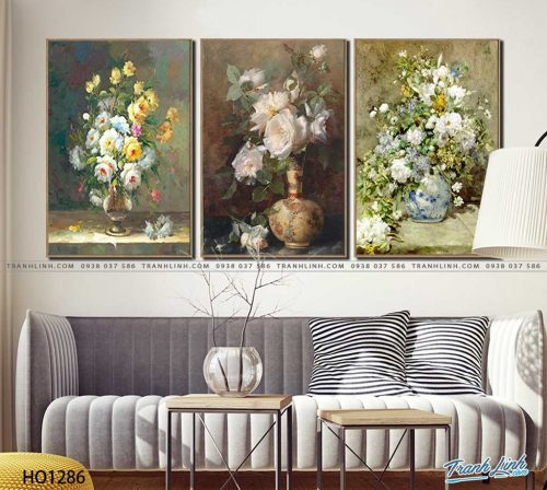 tranh canvas hoa 1286