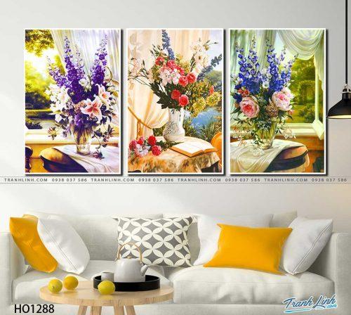 tranh canvas hoa 1288
