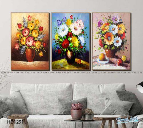 tranh canvas hoa 1291