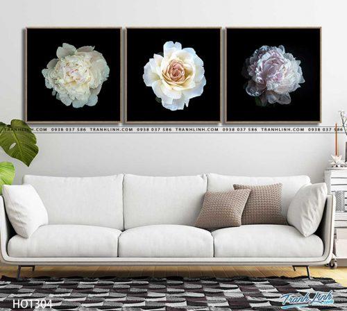 tranh canvas hoa 1304