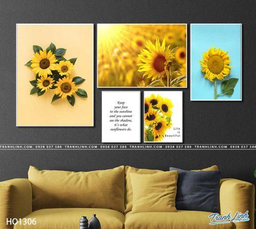 tranh canvas hoa 1306