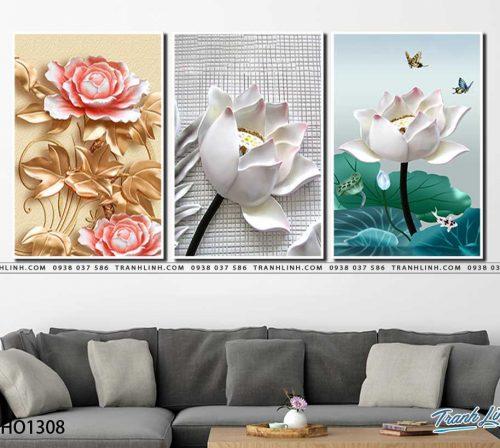 tranh canvas hoa 1308