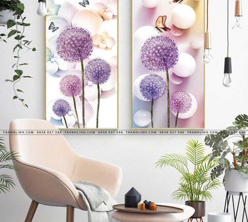 tranh canvas hoa 1319