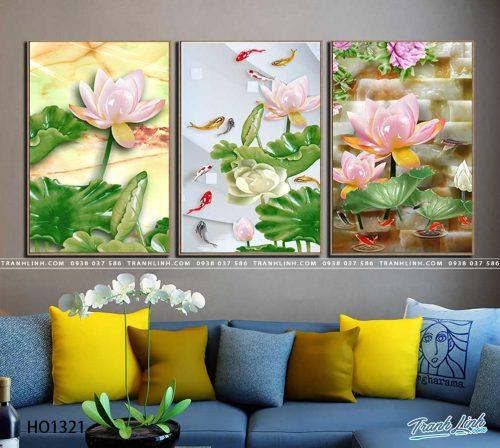 tranh canvas hoa 1321