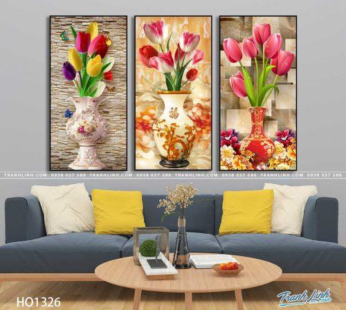 tranh canvas hoa 1326