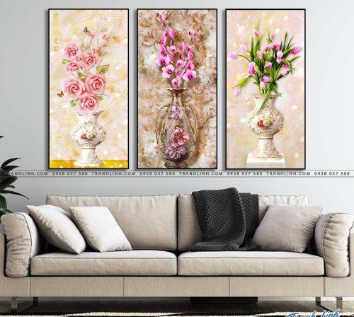 tranh canvas hoa 1327