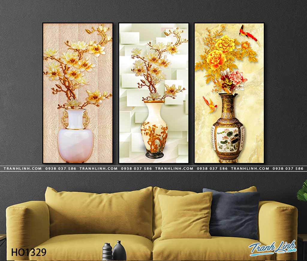 tranh canvas hoa 1329