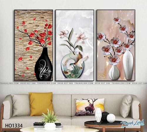 tranh canvas hoa 1334
