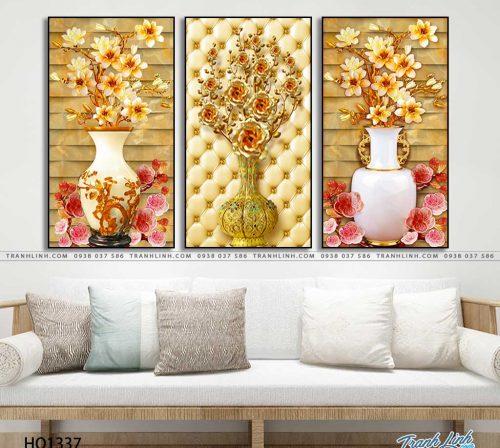 tranh canvas hoa 1337