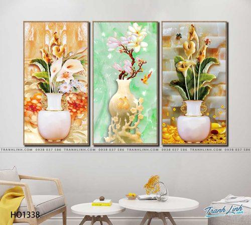 tranh canvas hoa 1338