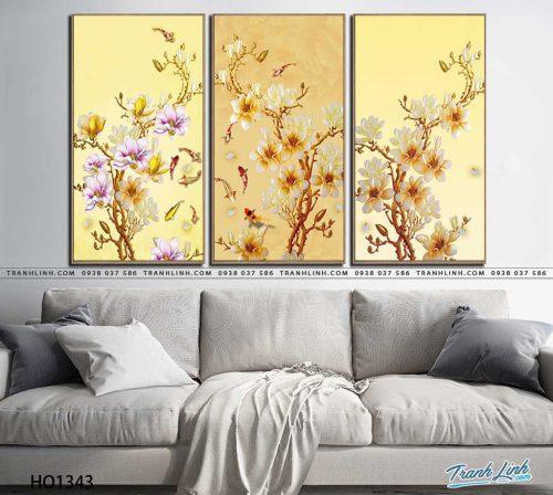 tranh canvas hoa 1343