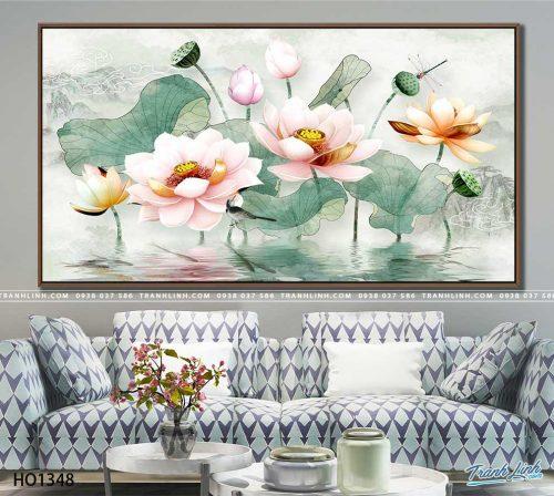 tranh canvas hoa 1348