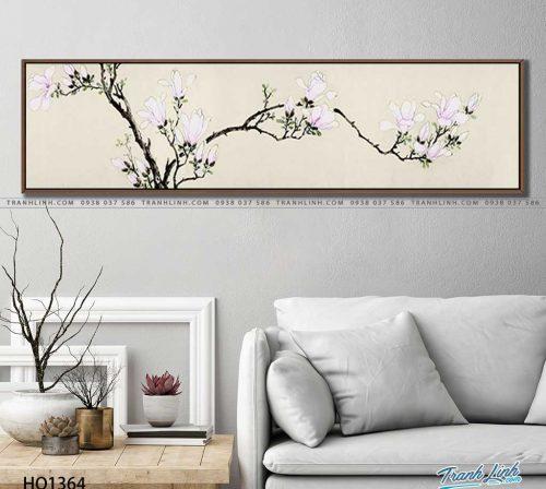 tranh canvas hoa 1364
