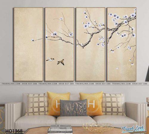 tranh canvas hoa 1368