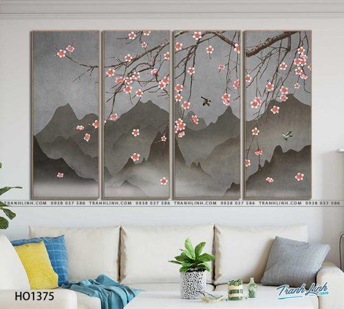 tranh canvas hoa 1375