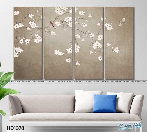 tranh canvas hoa 1378