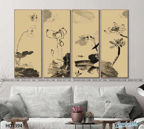 tranh canvas hoa 1394