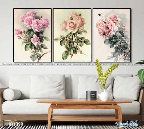 tranh canvas hoa 1399