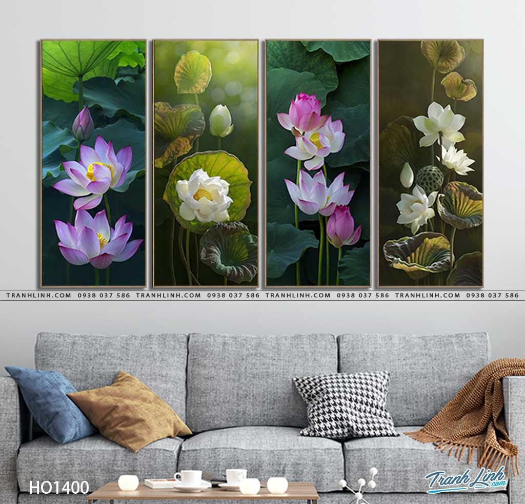 tranh canvas hoa 1400
