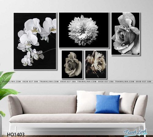 tranh canvas hoa 1403