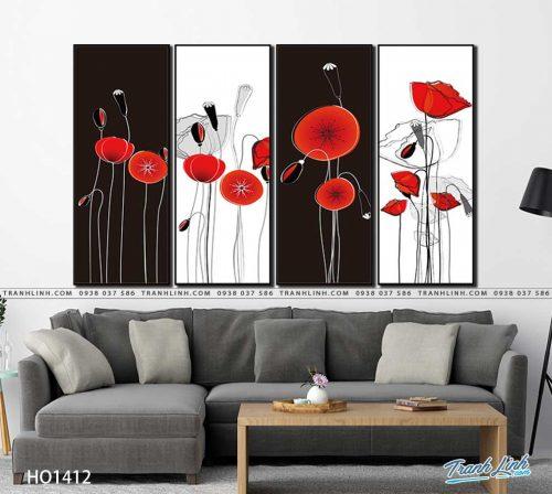 tranh canvas hoa 1412