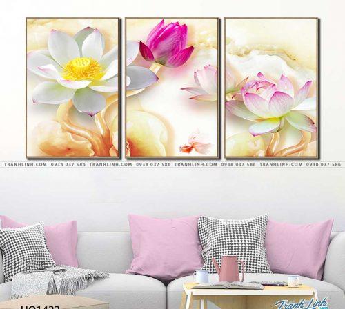 tranh canvas hoa 1423