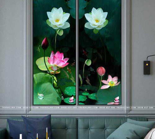 tranh canvas hoa 1430