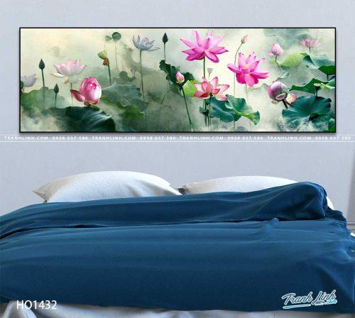 tranh canvas hoa 1432