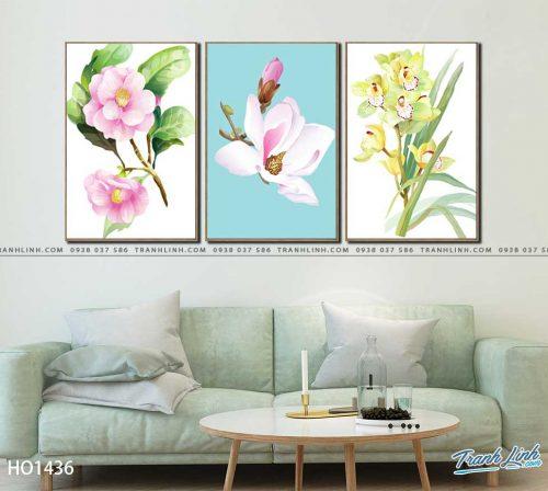 tranh canvas hoa 1436