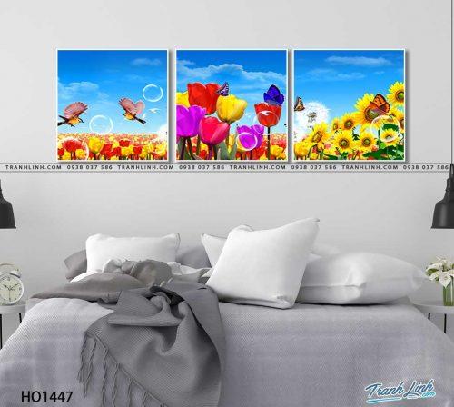 tranh canvas hoa 1447