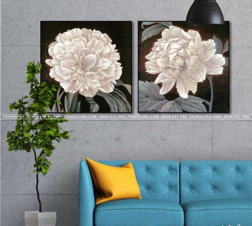 tranh canvas hoa 1451