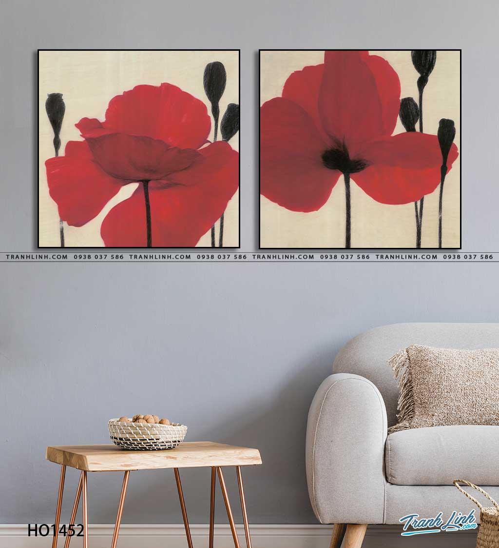 tranh canvas hoa 1452