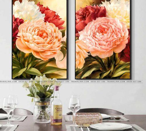 tranh canvas hoa 1458